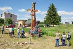 17. Baršėnų kryžiaus statymas II
