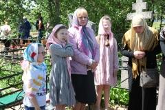 13. Ivanovų šeimos giminė Stravų kapinėse