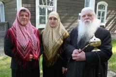 4. Trys kartos – dukra Ulita Čistova, anūkė Arianda Kornišova, tėvas Aleksandr Kudrešov